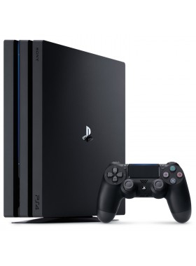 Sony PS4 Pro CUH-7106B PlayStation 4 Pro Console Player 8GB RAM 1TB Black Colour (Original) 1 Years Warranty By Sony Malaysia