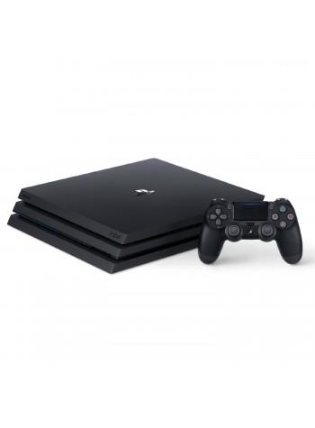 Sony PS4 Pro CUH-7106B PlayStation 4 Pro Console Player 8GB RAM 1TB Black Colour (Original) 1 Years Warranty By Sony Malaysia
