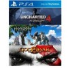 Sony PS4 HITS BUNDLE Game 3 in 1  Uncharted 4 / Horizon Zero Dawn / God Of War Remastered (Original) - R3