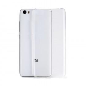 Xiaomi Mi 5 Clear Transparent Crystal TPU Silicone Case Cover (Original)