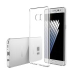 Samsung Galaxy Note 7 Clear Transparent Crystal TPU Silicone Case Cover (Original)