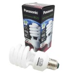 Panasonic EFD22E27HD 22W Spiral Soft Warm Light Bulb (Original)