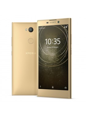 *DISPLAY Sony Xperia L2 Smartphone 3GB RAM 32GB Gold Colour (Original) 1 Year Warranty By Sony Malaysia