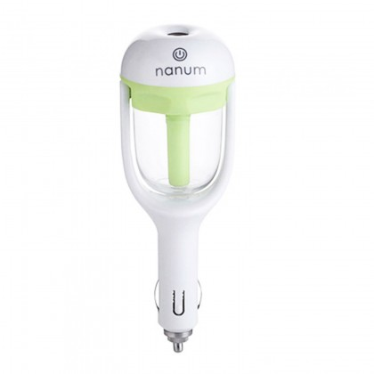Nanum Car Humidifier, Air Aromatherapy, Purifier Green