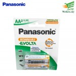 Panasonic HHR-3LVT Rechargeable Evolta AA Battery (Original)