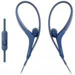 Sony MDR-AS410AP Blue Sport In-ear Headphones MDR-AS410AP/L (Original) from Sony Malaysia