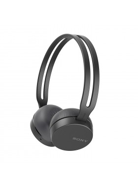 Sony WH-CH400 Black Wireless Headphones WH-CH400/B (Original) from Sony Malaysia