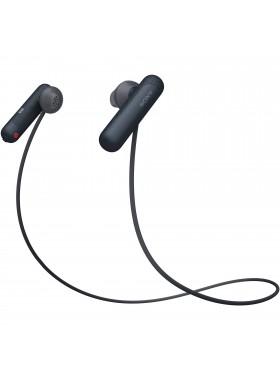 Sony WI-SP500 Black Wireless In-ear Sports Headphones WI-SP500/B (Original) from Sony Malaysia