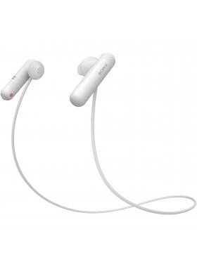 Sony WI-SP500 White Wireless In-ear Sports Headphones WI-SP500/W (Original) from Sony Malaysia