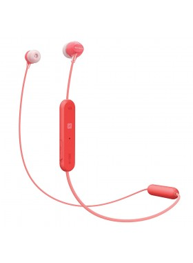 Sony WI-C300 Red Wireless In-ear Sports Headphones WI-C300/R (Original) from Sony Malaysia