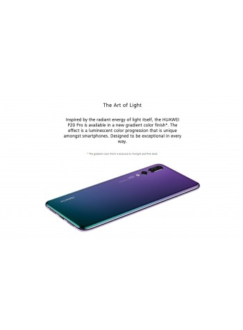 (DISPLAY) Huawei P20 Smartphone 4GB RAM 128GB Midnight Blue Colour (Original) 1 Year Warranty By Huawei Malaysia