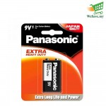Panasonic S-006PSHD Manganese Extra Heavy Duty 9V Battery (Original)