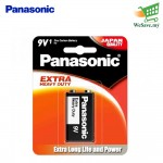 Panasonic S-006PSHD Manganese Extra Heavy Duty 9V Touch & Go Battery (Original)