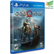 Sony PS4 Game God of War IV Standard Edition (Original) - R3
