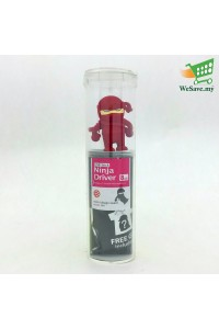 Bone USB Stick - Red Ninja - 8GB Flash Drive / Pen Drive / Thumb Drive / Flash Stick / Memory Stick from Bone Collection
