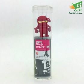 Bone USB Stick - Red Ninja - 8GB Flash Drive / Pen Drive / Thumb Drive / Flash Stick / Memory Stick from Bone Collection