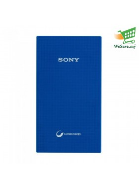 Sony 5000mAh Power Bank CP-V5A Portable USB Charger Blue Colour (Original)