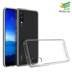 Huawei P20 Clear Transparent Crystal TPU Silicone Case Cover (Original)