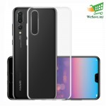 Huawei P20 Pro Clear Transparent Crystal TPU Silicone Case Cover (Original)