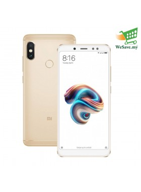 Xiaomi Redmi Note 5 Smartphone 3GB RAM 32GB Gold Colour (Original) 1 Year Warranty By Mi Malaysia