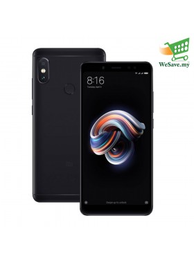 (DISPLAY) Xiaomi Redmi Note 5 Smartphone 4GB RAM 64GB Black Colour (Original) 1 Year Warranty By Mi Malaysia