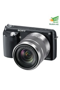 (DISPLAY UNIT) Sony Alpha NEX-F3Y 16.1MP Mirrorless Digital Camera With 18-55mm Lens Black Colour