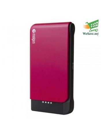 (DISPLAY UNIT) Moigus 8100mAh Power Bank Pink Colour (Original)