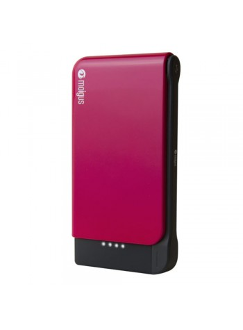 (DISPLAY UNIT) Moigus 8100mAh Power Bank Pink Colour (Original)