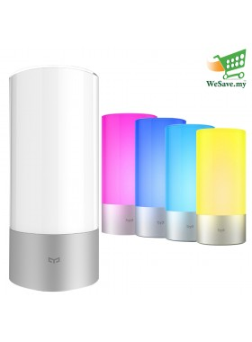 Xiaomi Yeelight Bedside Lamp Wifi Bluetooth RGB Touch Control Smart Phone App (Original)