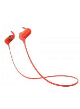 Sony MDR-XB50BS EXTRA BASS Sport Wireless Bluetooth In-ear Headphones MDR-XB50BS/R Red Colour (Original) 1 Year Warranty By Sony Malaysia