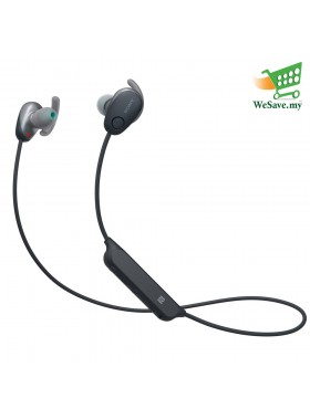 Sony WI-SP600N Black Wireless In-ear Sports Headphones WI-SP600N/B (Original) from Sony Malaysia