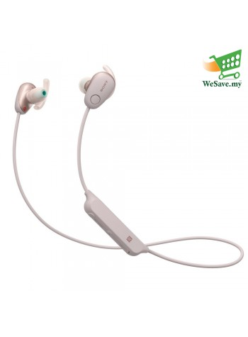 Sony WI-SP600N Pink Wireless In-ear Sports Headphones WI-SP600N/P (Original) from Sony Malaysia