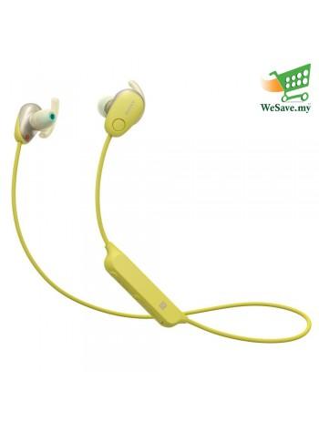Sony WI-SP600N Yellow Wireless In-ear Sports Headphones WI-SP600N/Y (Original) from Sony Malaysia