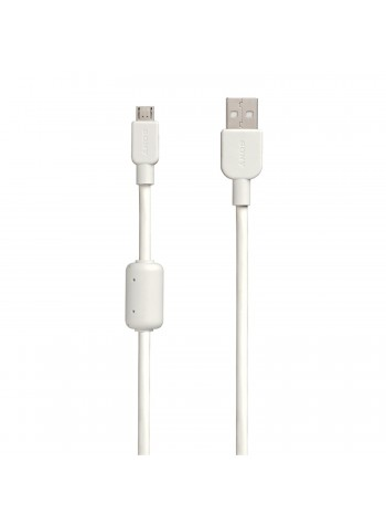 BUNDLE SHOCK! (1+1) Sony CP-AB150 Micro USB Charging And Transfer Cable 1.5 meter (USB A - Micro USB) White Colour (Original)