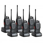 6 Units BAOFENG BF-888S Walkie Talkie Two-Way Radio Transceiver UHF FM 52 (Original)