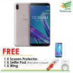 (FREE Accessories) Asus Zenfone Max Pro (M1) Smartphone ZB602KL 3GB RAM 32GB Meteor Silver Colour (Original) 1 Year Warranty By Asus Malaysia