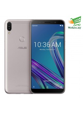 Asus Zenfone Max Pro (M1) Smartphone ZB602KL 3GB RAM 32GB Meteor Silver Colour (Original) 1 Year Warranty By Asus Malaysia