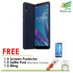 (FREE Accessories) (DISPLAY) Asus Zenfone Max Pro (M1) Smartphone ZB602KL 4GB RAM 64GB Deepsea Black Colour (Original) 1 Year Warranty By Asus Malaysia