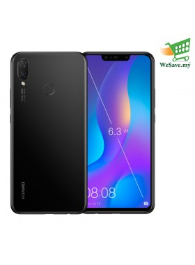 Huawei Nova 3i Smartphone 4GB RAM 128GB Black Colour (Original) 1 Year Warranty By Huawei Malaysia