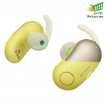 Sony WF-SP700N  Wireless In-ear Sports Headphones WF-SP700N/Y (Original) from Sony Malaysia-Yellow Color