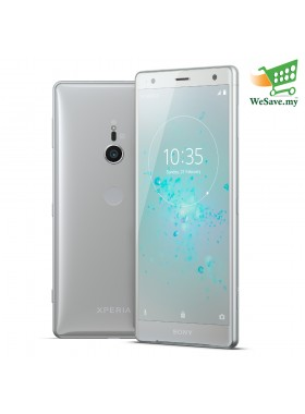 (DISPLAY) Sony Xperia XZ2 Smartphone 4GB RAM 64GB Liquid Silver Colour (Original) 1 Year Warranty By Sony Malaysia