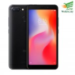 (DISPLAY) Xiaomi Redmi 6 Smartphone 3GB RAM 32GB Black Colour (Original) 1 Year Warranty By Mi Malaysia