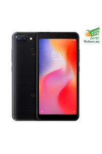 Xiaomi Redmi 6 Smartphone 3GB RAM 32GB Black Colour (Original) 1 Year Warranty By Mi Malaysia
