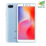 Xiaomi Redmi 6 Smartphone 3GB RAM 32GB Blue Colour (Original) 1 Year Warranty By Mi Malaysia