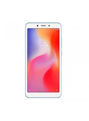 Xiaomi Redmi 6 Smartphone 3GB RAM 32GB Blue Colour (Original) 1 Year Warranty By Mi Malaysia