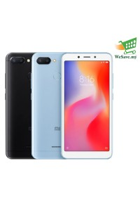 Xiaomi Redmi 6 Smartphone 3GB RAM 32GB (Original) 1 Year Warranty By Mi Malaysia