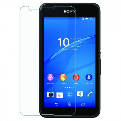 Sony Xperia E4 Half Cover Tempered Glass