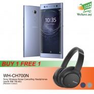 (BUY 1 FREE 1) Sony Xperia XA2 Ultra Smartphone 4GB RAM 64GB Blue Colour FREE Sony WH-CH700N Wireless Noise Cancelling Headphones (Original) 1 Year Warranty By Sony Malaysia