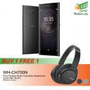 (BUY 1 FREE 1) Sony Xperia XA2 Ultra Smartphone 4GB RAM 64GB Black Colour FREE Sony WH-CH700N Wireless Noise Cancelling Headphones (Original) 1 Year Warranty By Sony Malaysia