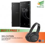 (BUY 1 FREE 1) (DISPLAY) Sony Xperia XA1 Plus Smartphone 4GB RAM 32GB Black Colour FREE Sony WH-CH700N Wireless Noise Cancelling Headphones (Original) 1 Year Warranty By Sony Malaysia